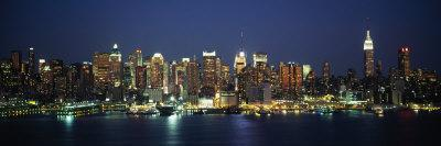 Buildings at the Waterfront, Manhattan, New York City, New York, USA