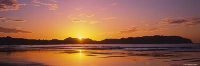 Samara Beach at Sunrise, Guanacaste Province, Costa Rica