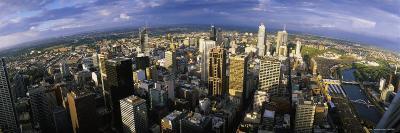 Aerial View of Melbourne, Australia