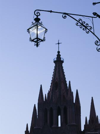 Parroquia de San Miguel Archangel Church, San Miguel de Allende, Guanajuato State, Mexico,