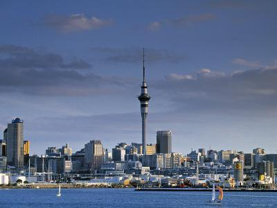 Skyline of Auckland, North Island, New Zealand