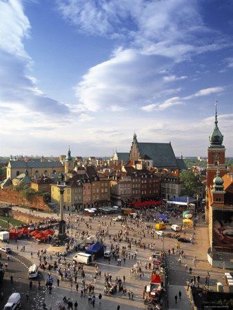 Plac Zamkovy, Warsaw, Poland