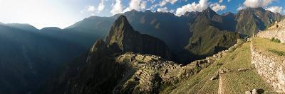 Panoramic View of Machu Picchu, Sacred Valley, Peru
