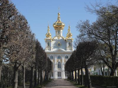 Church of the Palace, Peterhof, Near St. Petersburg, Russia