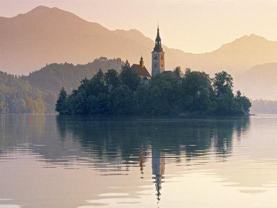 Lake Bled, Gorenjska, Slovenia