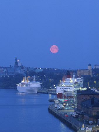 Ferry Port, Stockholm, Sweden