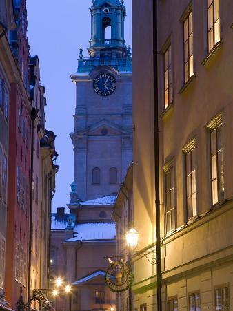 Storkyrkoboden Church, Gamla Stan, Stockholm, Sweden