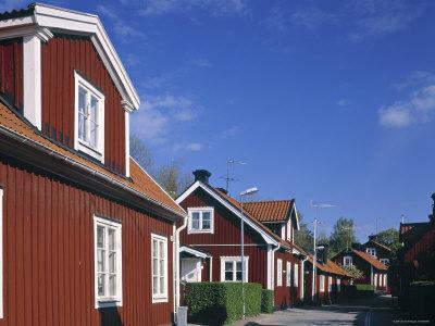 Red Houses, Trosa, Se Sweden