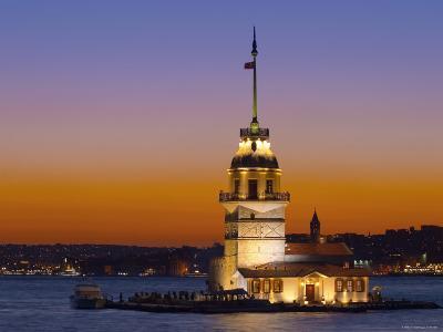 Kiz Kulesi, Salamac, Bosphorus, Istanbul, Turkey