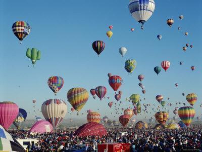Albuquerque Balloon Fiesta, Albuquerque, New Mexico, USA
