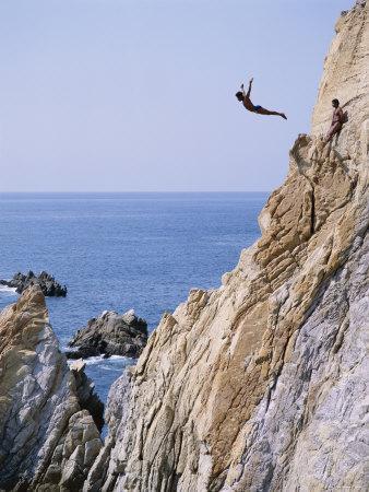 La Quebrada, Cliff Diver, Acapulco, Mexico