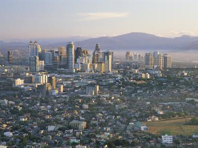 Pasig City Business Area Skyline, Manila, Philippines