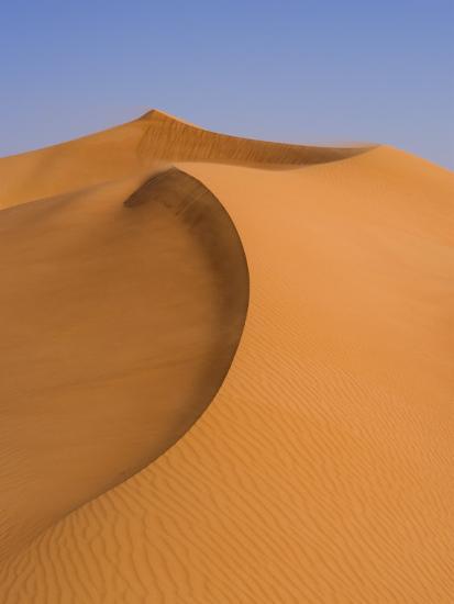 Sand Dunes Arabian Desert Dubai United Arab Emirates