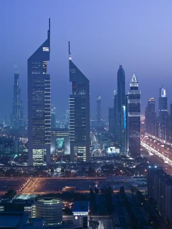 Emirates Towers, Sheik Zayed Road Area, Dubai, United Arab Emirates