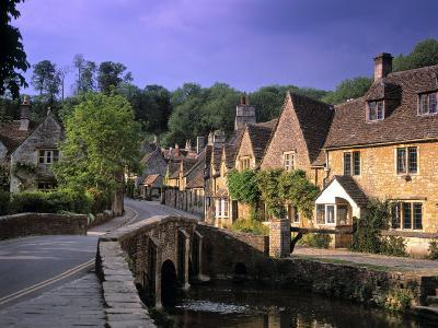 Castle Combe, The Cotswolds, Wiltshire, England
