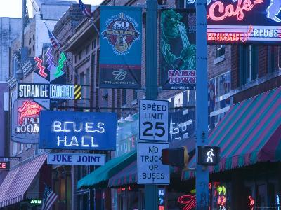 Beale Street Entertainment Area, Memphis, Tennessee, USA