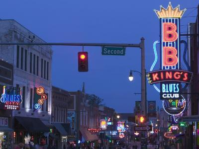 BB King's Club, Beale Street Entertainment Area, Memphis, Tennessee, USA