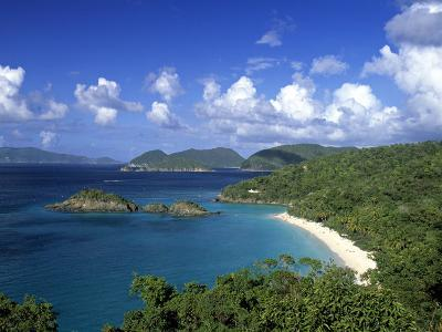 Trunk Bay, St. John, Us Virgin Islands, Caribbean