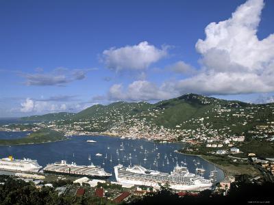 Charlotte Amalie, St. Thomas, Us Virgin Islands, Caribbean