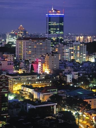 Saigon City, Ho Chi Minh City, Vietnam