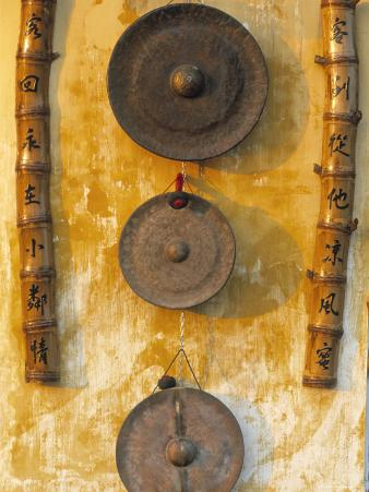 Gongs Hanging on a Wall, Vietnam