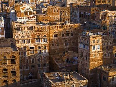 Skyline of Sanaa, Yemen