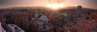 Skyline of Sana'a, Yemen