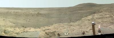 Westward View of Mars, True Color