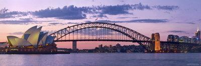 Opera House and Harbour Bridge, Sydney, New South Wales, Australia