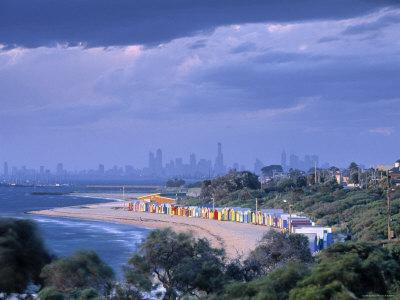 Bathing Huts, Port Phillip Bay, Melbourne, Victoria, Australia