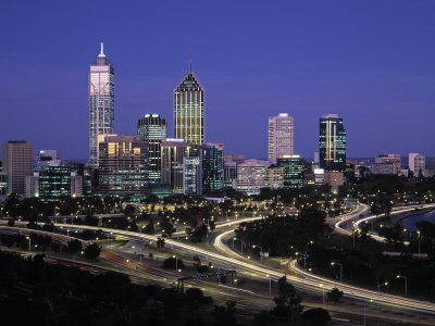 Perth Skyline, Western Australia, Australia