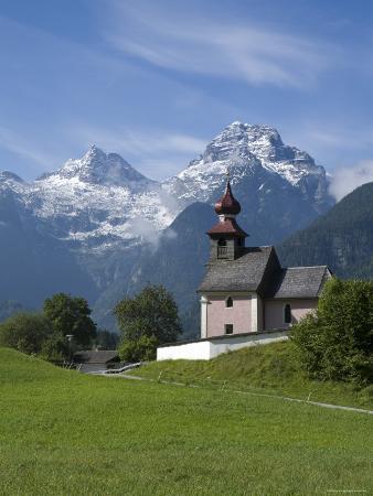 Au, Near Lofer, Salzburg State, Austria