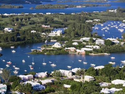 View from Gibbs Hill Overlooking Southampton Parish, Bermuda