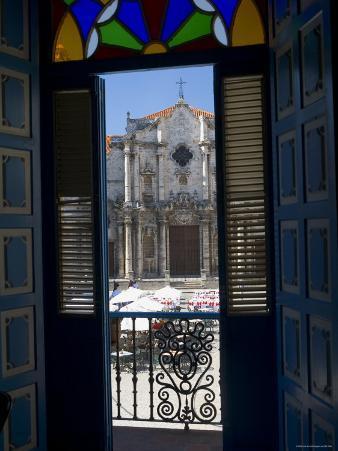 Plaza de La Catedral, Havana Vieja, Havana, Cuba