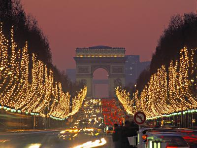 Champs Elysees, Paris, France