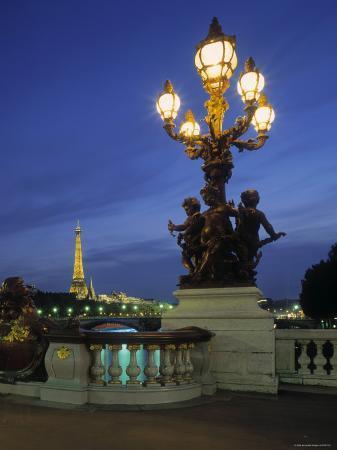 Pont Alexandra III, Paris, France