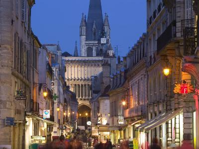 Rue Musette and Eglise Notre Dame, Dijon, Burgundy, France