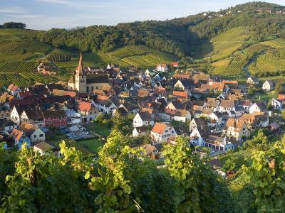 Niedermorschwihr, Alsace, France