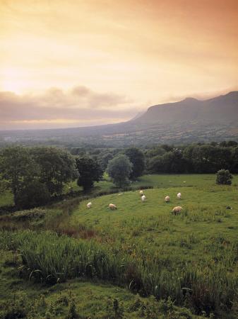 Ben Bulben, Yeats Country, Co. Sligo, Ireland