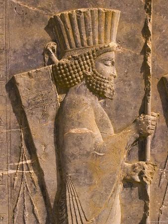 Bas Reliefs, Persepolis, Fars Province, Iran