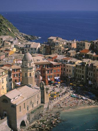 Vernazza, Riviera Di Levante, Liguria, Italy