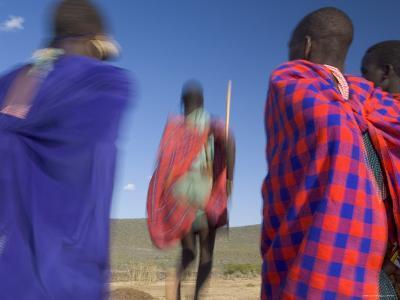 Masai Tribe, Masai Mara National Park, Kenya