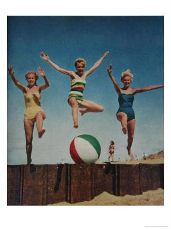 Jumping Ladies