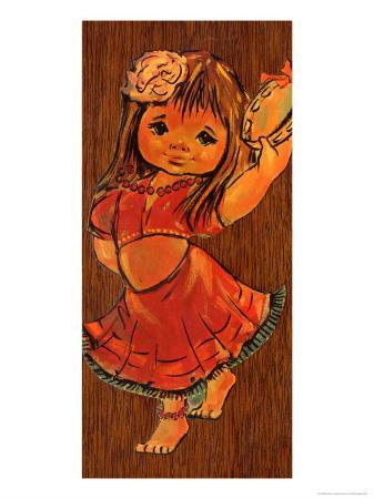 Retro Gipsy Girl