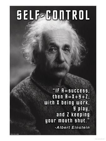 Self-Control, Einstein