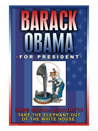 Barack Obama, Save Social Security