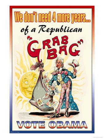 Vote Obama, End the Republican Grab Bag