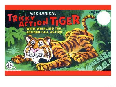 Tricky Action Tiger