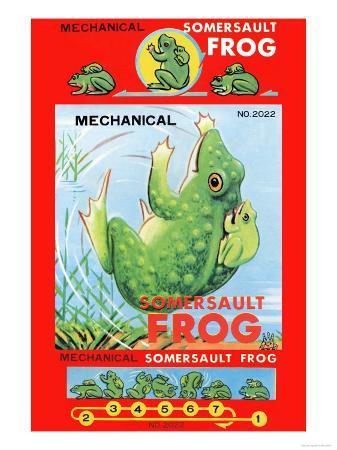 Mechanical Somersault Frog