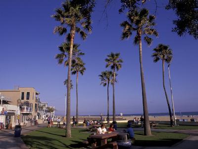 Picnic Tables, Newport Beach, California
